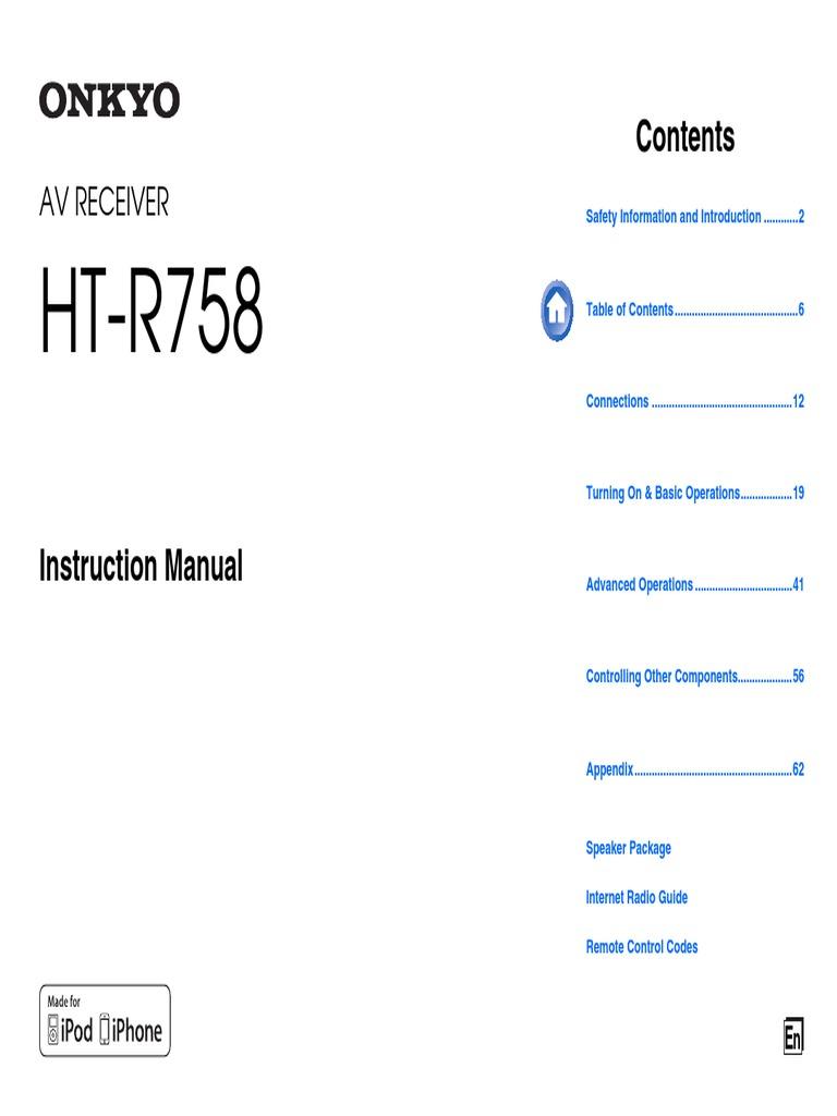 HT S6500 English | Hdmi | I Pod