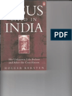 Jesus Lived in India