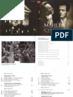 Booklet on Mahler