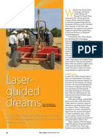 Rice Today Vol. 12, No. 4 Laser-guided dreams