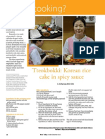 Rice Today Vol. 12, No. 4 Tteokbokki