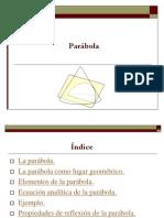 2.- Parábola