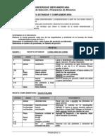 PRACTICA 02 Receta Estandar y Complementaria