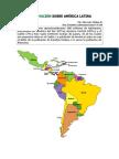 Información sobre América Latina
