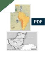 Mapa de Los Pueblos Precolombinos