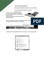 Computacion Matricula de Valoracion Operación de dispositivos de almacenamiento