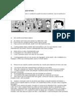 Exercícios Interpretação textual