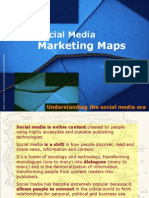 Social Media Marketing Maps & Diagrams