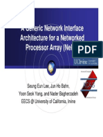 [Slide] a Generic Network Interface Architecture for a Networked Processor Array - NePA
