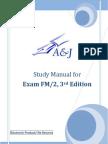 A&J Study Manual for SOA Exam FM/ CAS Exam 2