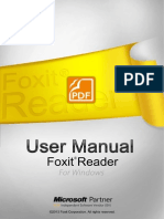 Foxit Reader 60 - Manual
