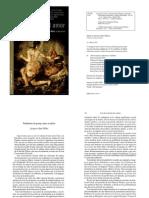 Jacques-Alain Miller - La Pareja y El Amor - Cap. 1. Problemas de Pareja, Cinco Modelos