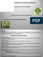 Variables Macroeconomicas en El Peru