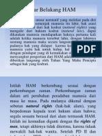 Latar Belakang HAM (1)