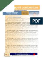 Point conjoncture CGPME Juin-Juillet09