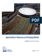 Opportunities in Resources and Emerging Markets