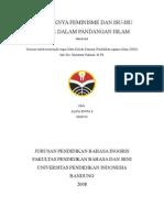 Feminisme Dan Isu Gender Dalam Pandangan Islam