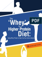 The whey to a higher protein diet