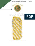 Glasses Holder crochet pattern