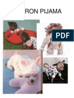 Pijama para perros