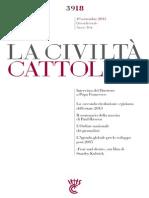 La Civilta Cattolica; Entrevista a Francisco