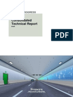 Tunnel - Consolidated Technical Report