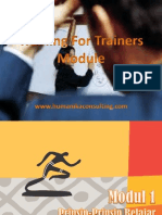 training for trainers module