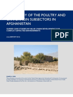 mR 106 - Case Study of the Poultry and Grape/Raisin Sub Sectors in Afghanistan