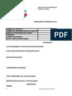 Formulario Pre Registro