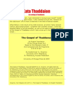 Gospel of Thaddaeus