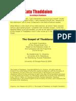 Gospel of Thaddaeus