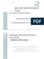 Aval Aprendizagens Alunos Prof Sonia Dias