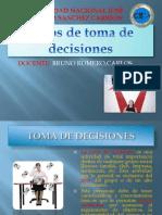 Tipos de Toma de Decisiones