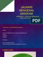 JAUHARI MENGENAL MANIKAM