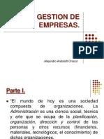Diapositivas Gestion de Empresas 2013