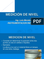 CLASE XVIII ( INTRODUCCION MEDICIÓN DE NIVE)L