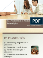 4 Planeacion y Administracion Estrategica