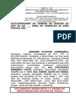 RECLAMAÇÃO TRABALHISTA AAG