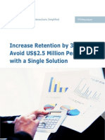 Increase Retention by 35- And-Avoid US$2.5 Million Penalties-With a Single Solution