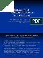 RELACIONES INTERPERSONALES PERTURBADAS