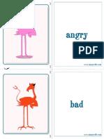 Adjectives Cut Fold m1 1415