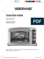 103738 Farberware Counter Top Oven Use and Care Manual