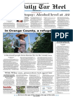 The Daily Tar Heel for October 8, 2013