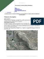 Informe Proyecto Carretera Mirador Mollebaya