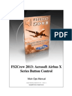 FS2Crew Airbus X Button Control Manual
