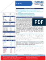 Equity Morning Note 08 October 2013-Mansukh Investment and Trading Solution