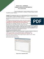 ANDRÉ CARDIA - Informática Corrigida - TJ-SC - 2007