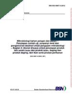 SNI Suspensi Awal Produk Pangan.sni ISO 6887-4-2012.Mikrobiologi