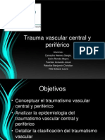 Traumatismo Vascular y Central Equipo d