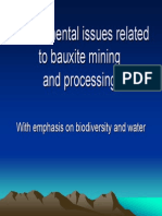 Environmental Problems Related to Bauxite Mining and Processing-Paul Ouboter